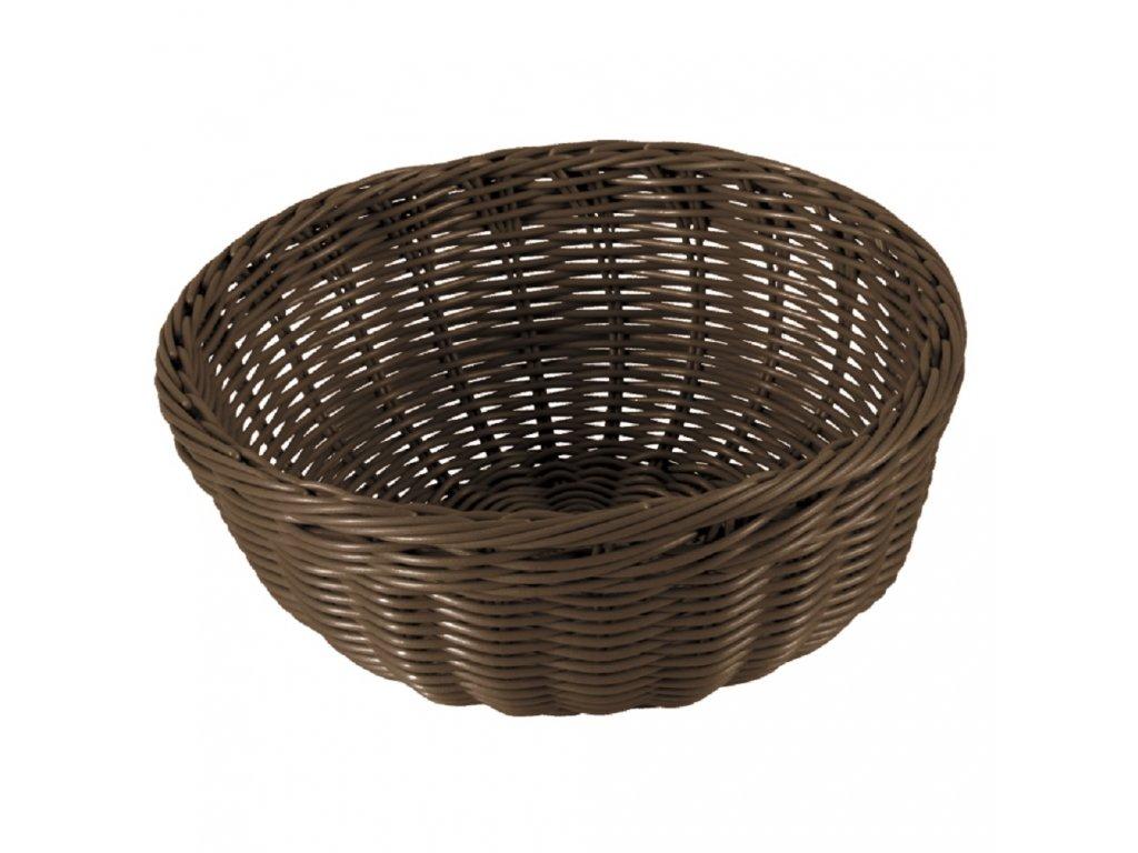 Košík Sante Brown 24 x 9,8 cm AMBITION