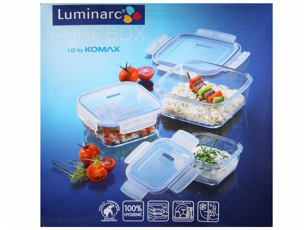 Hermetická nádobka Pure Box Active 420 ml LUMINARC