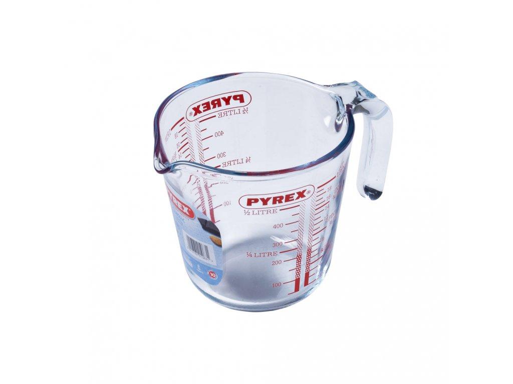 Skleněná odměrka 500 ml PYREX