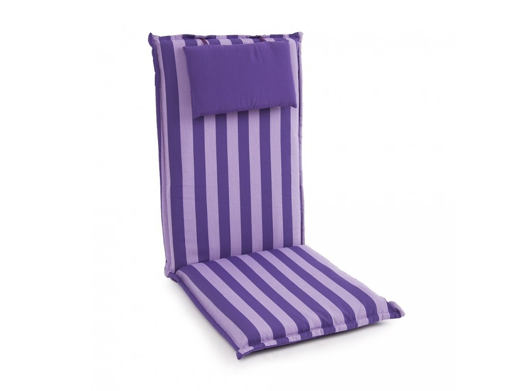 Sedák na křeslo s povlakem na zips Premium Hoch 7 cm 15026-8 PATIO