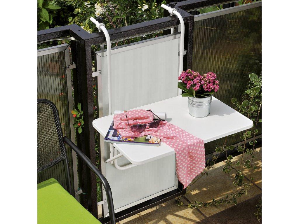 Závěsný stolík na balkón 40 x 60 cm PATIO
