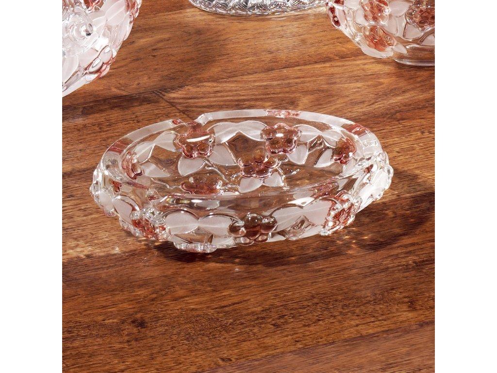 Popelník Carmen Satin Rose 16,5 cm WALTHER GLAS
