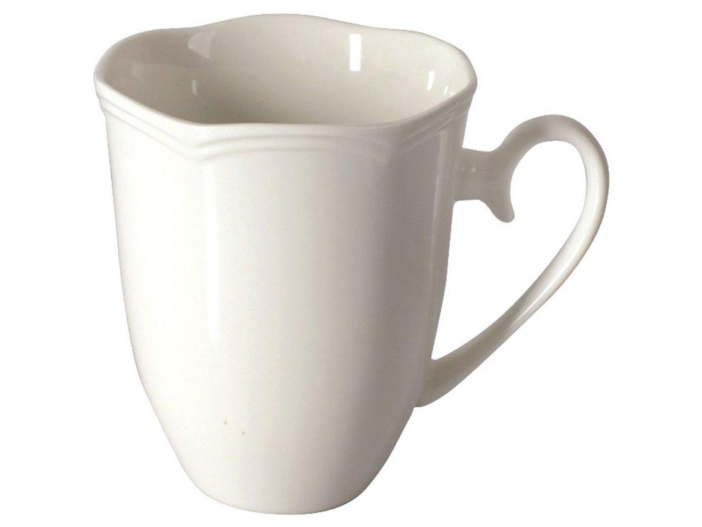 Porcelánový hrnek Diana White I. 350 ml AMBITION