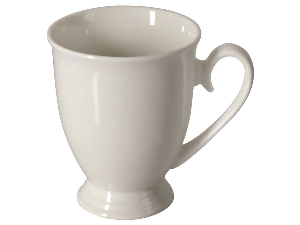 Porcelánový hrnek Diana White III. 300 ml AMBITION