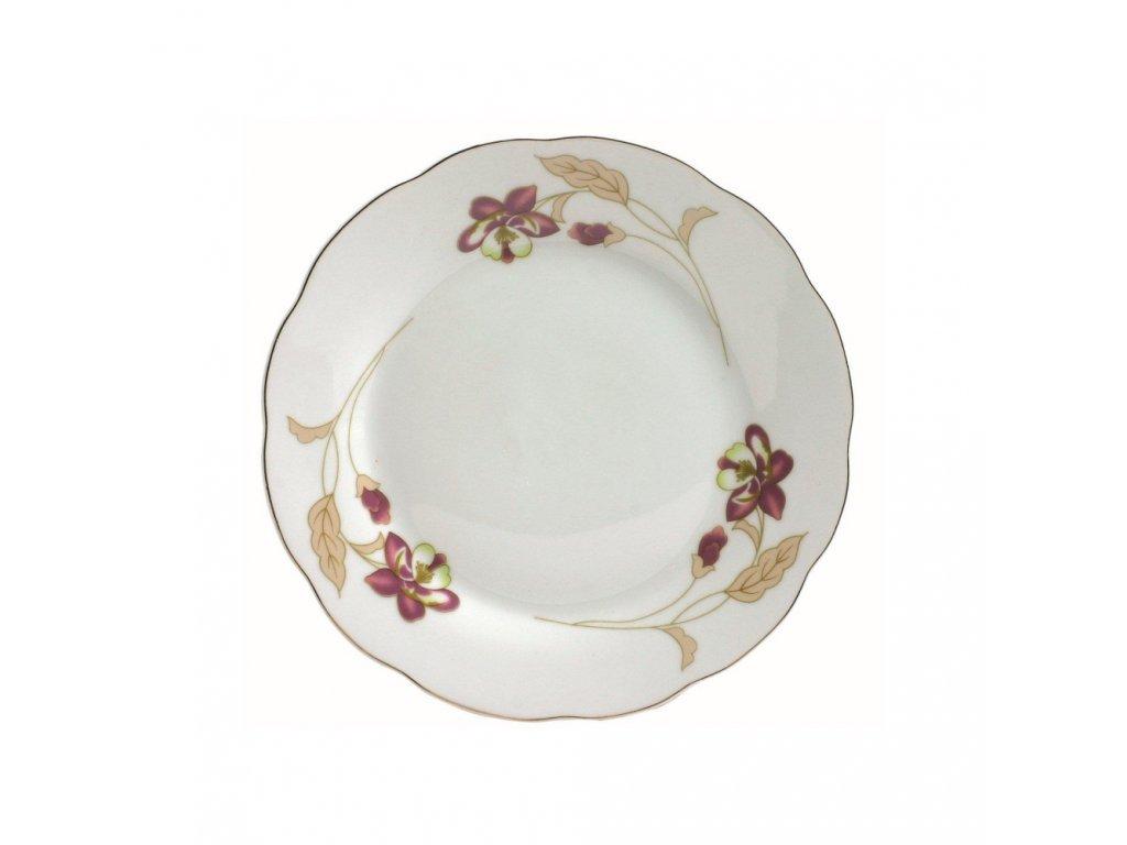 Dezertní talíř Orchidea 18 cm DOMOTTI