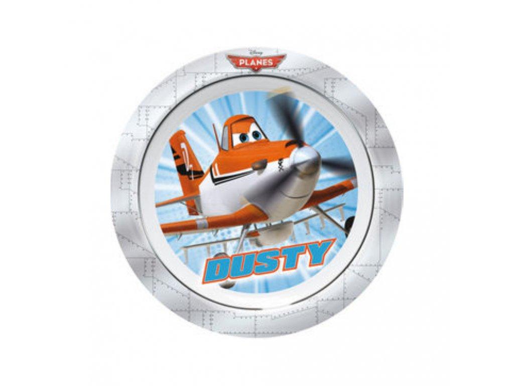 Melaminový mělký talíř Letadla 22 cm DISNEY