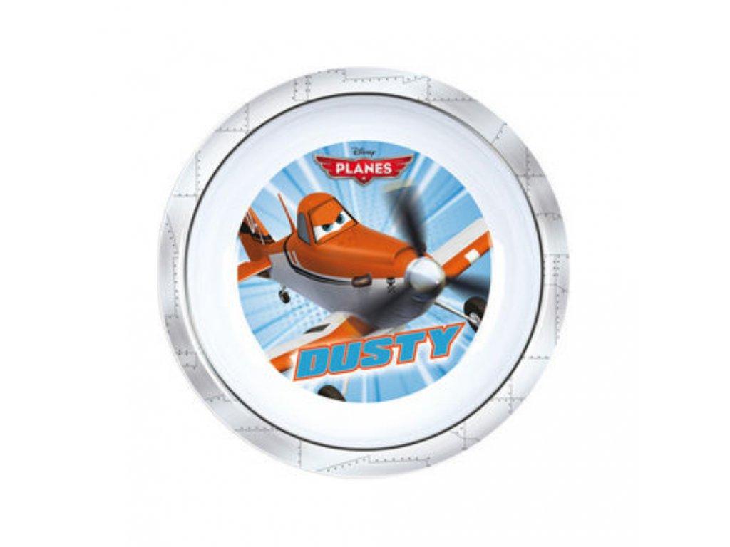 Melaminový hluboký talíř Letadla 19,5 cm DISNEY