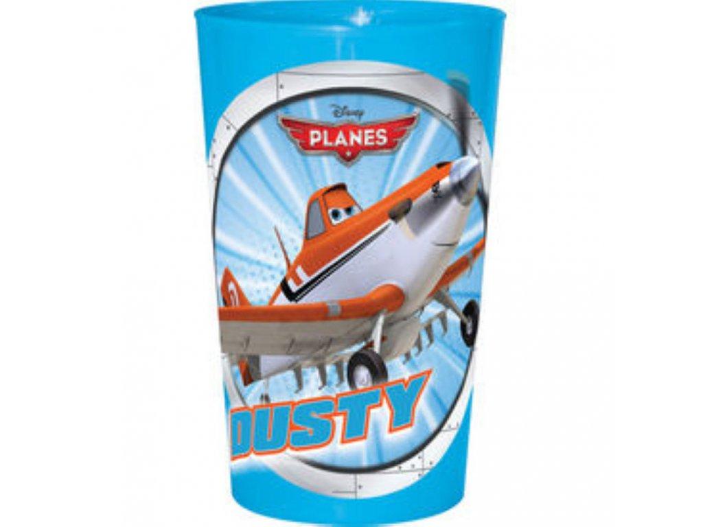 Melaminová sklenice Letadla Dusty 225 ml DISNEY