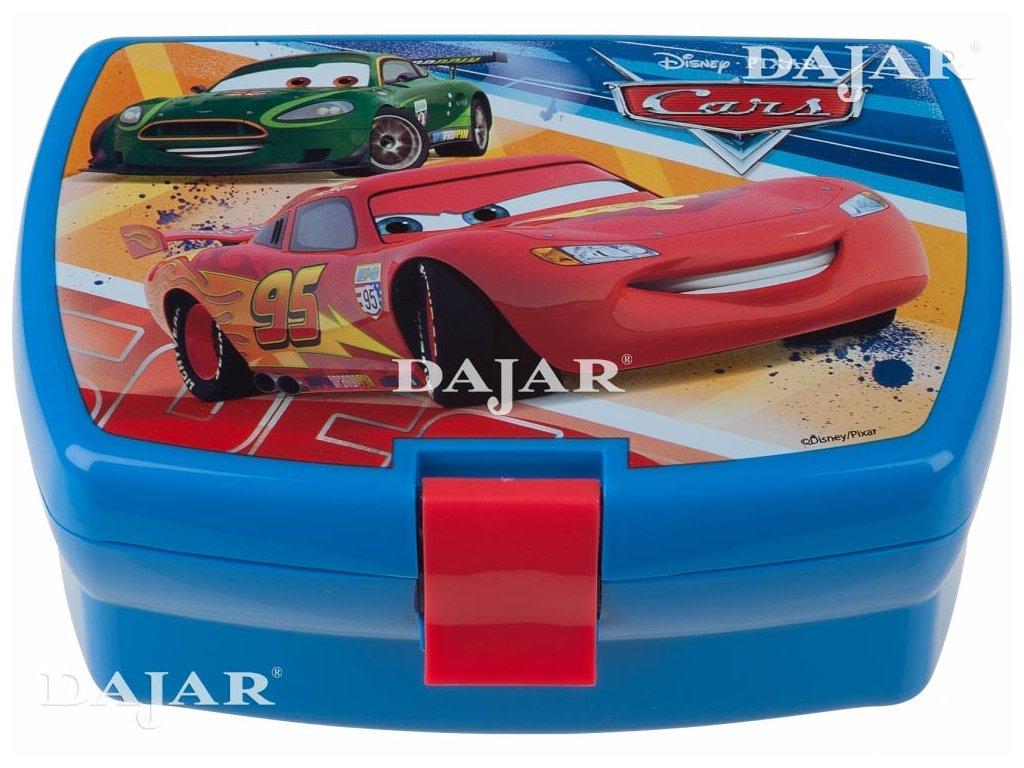 Svačinový box Cars Raceway DISNEY