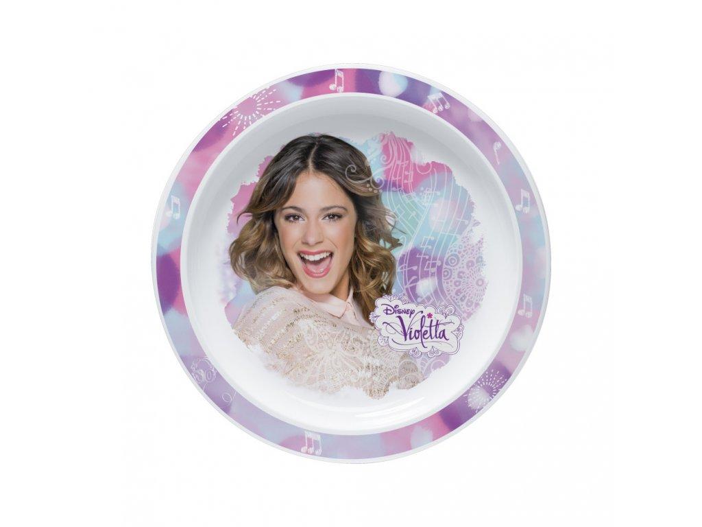 Hluboký talíř Violetta 22 cm DISNEY