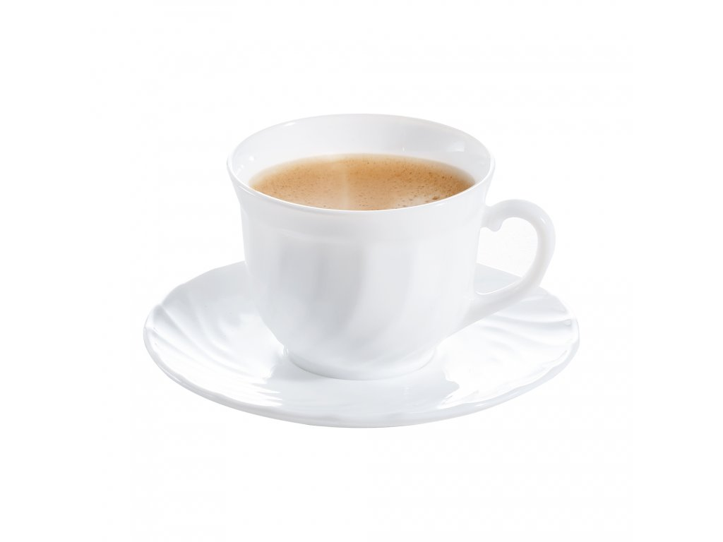 Kávový servis Trianon 280 ml 8-dílů LUMINARC