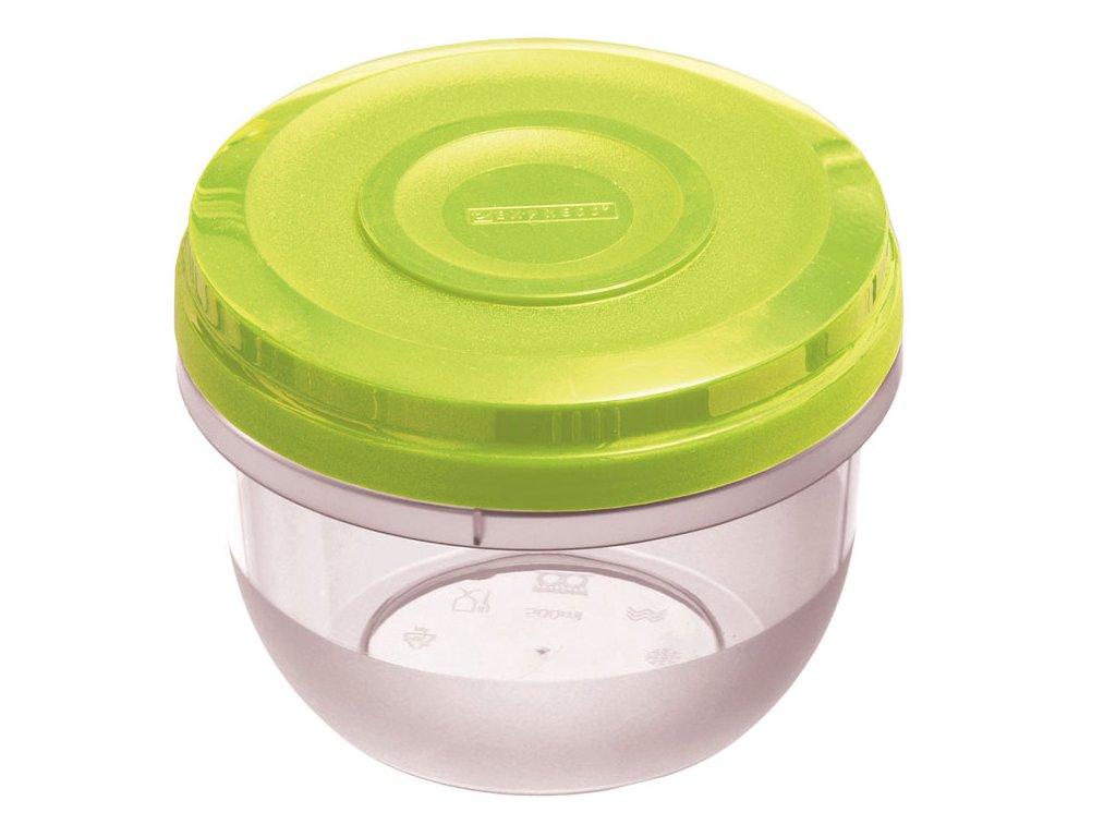 Nádoba do mikrovlnky Fusion Fresh Green 500 ml AMBITION