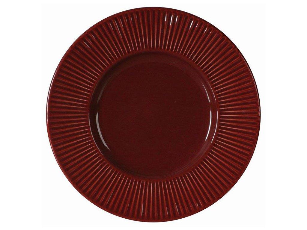 Keramický dezertní talíř Palette Cherry 22,5 cm AMBITION