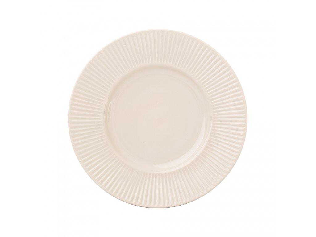 Keramický dezertní talíř Palette Cream 22,5 cm AMBITION