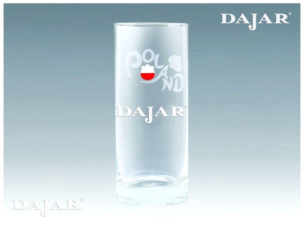 Sklenice na Long drink 270 ml Euro 2012 Poland