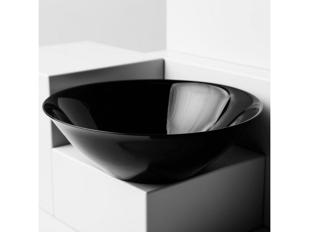 Salátová mísa Carine Black 27 cm LUMINARC