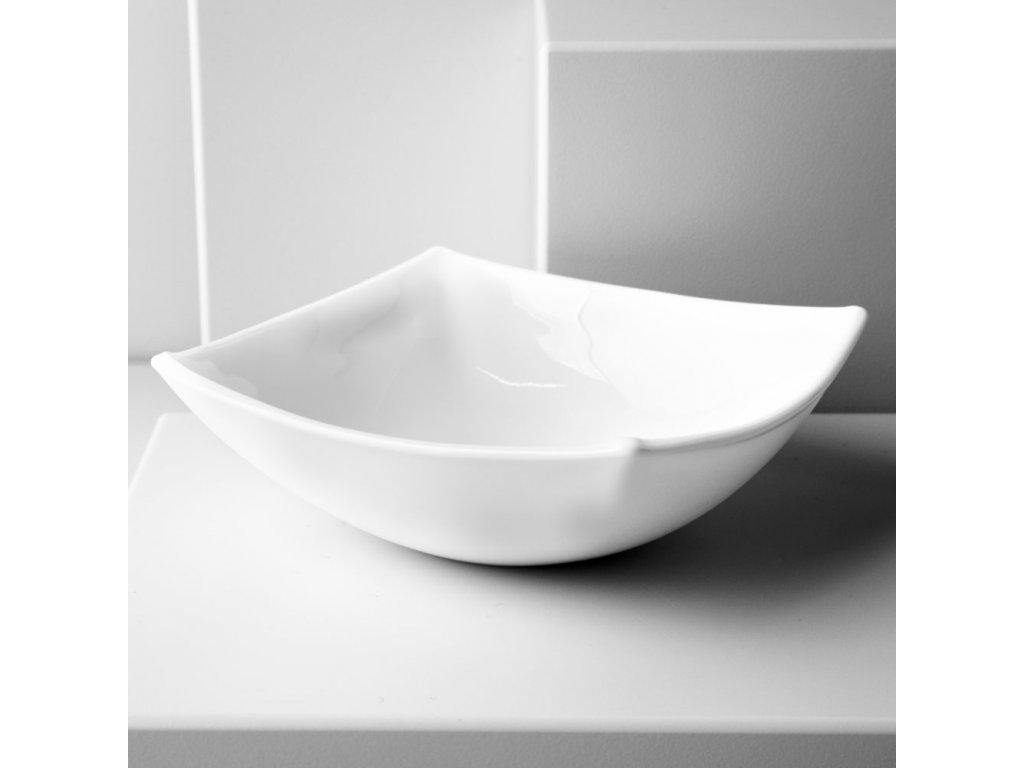 Salátová mísa Quadrato White 14 x 14 cm LUMINARC
