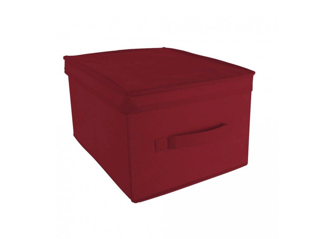 Organizér do skříně Comfort Red 28 x 36 x 20 cm ARRANGER