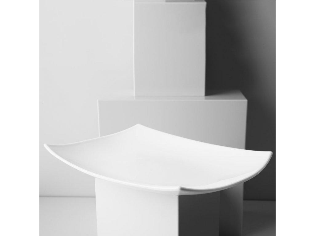 Servírovací talíř Quadrato White 35 x 26 cm LUMINARC