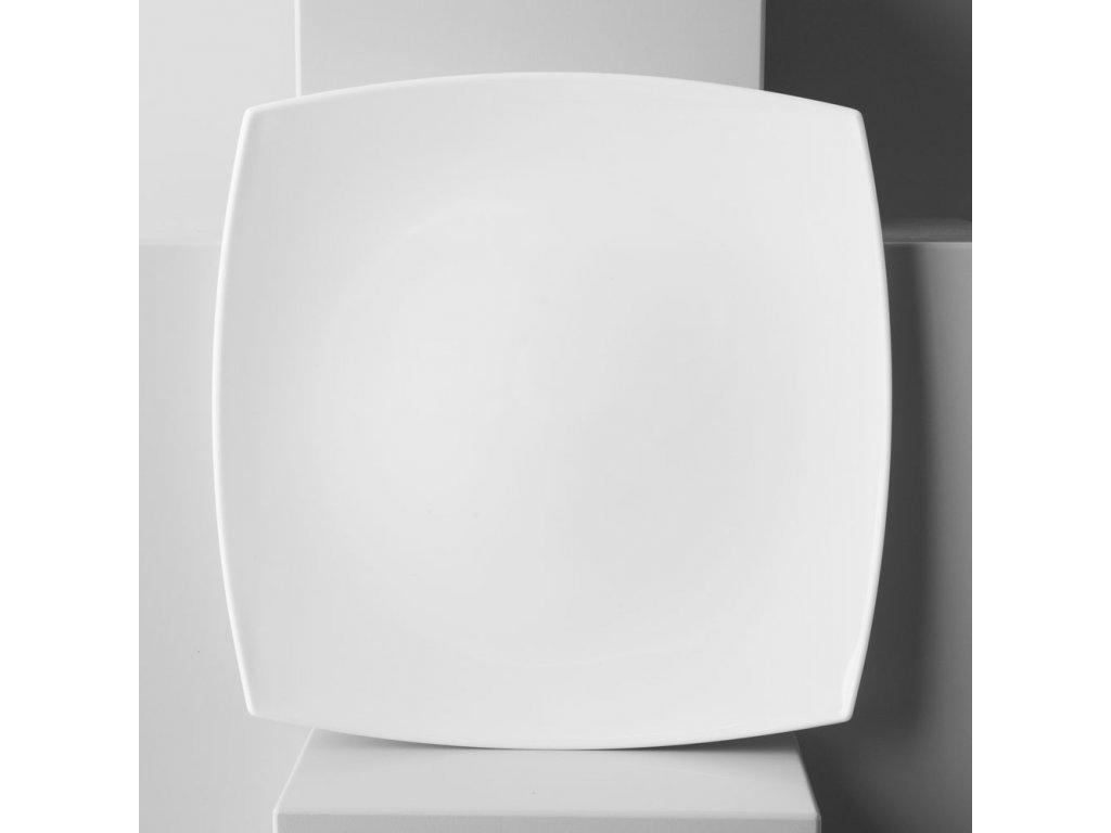 Mělký talíř Quadrato White 26,5 x 26,5 cm LUMINARC