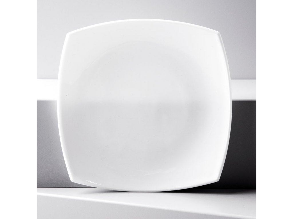 Dezertní talíř Quadrato White 18,5 x 18,5 cm LUMINARC