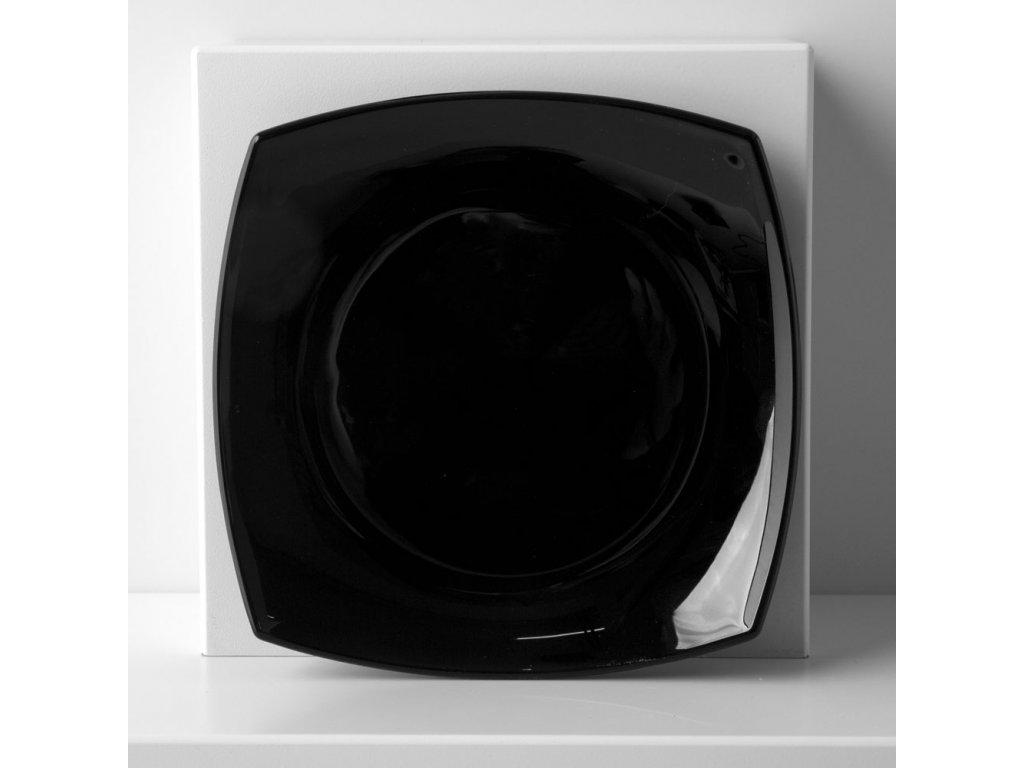 Dezertní talíř Quadrato Black 18,5 x 18,5 cm LUMINARC