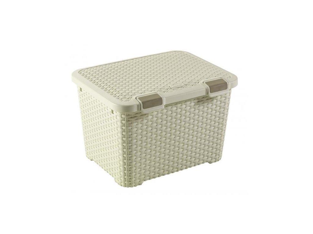 Univerzální skříňka / box Style Cream 50 x 40 x 33 cm, 43 l CURVER