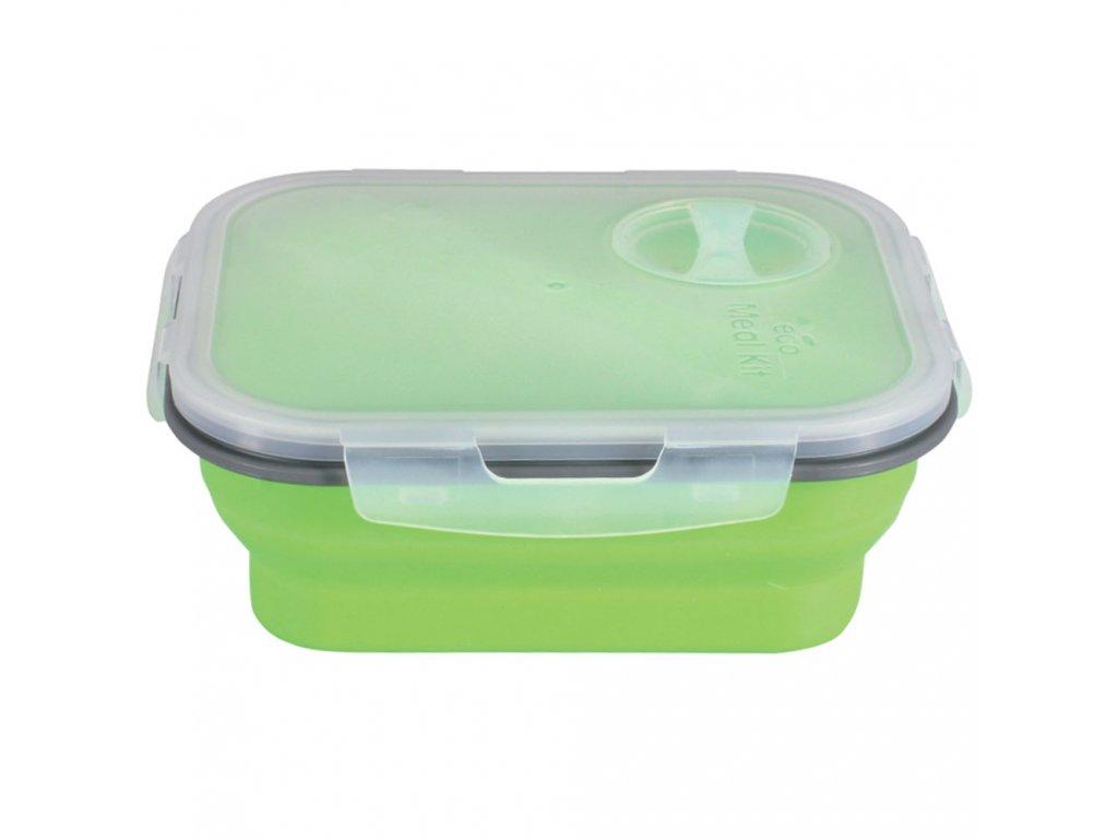 Silikonový svačinový box Jelly 18,5 x 16 x 7 cm AMBITION