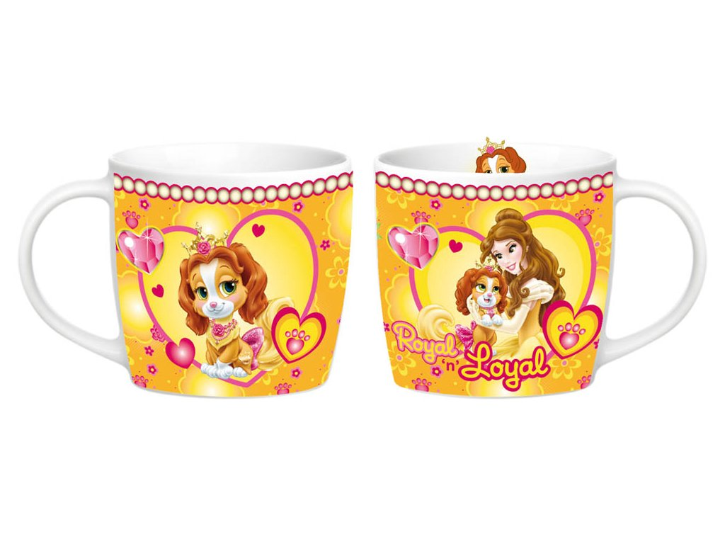 Porcelánový hrnek Princezna Bella 300 ml DISNEY