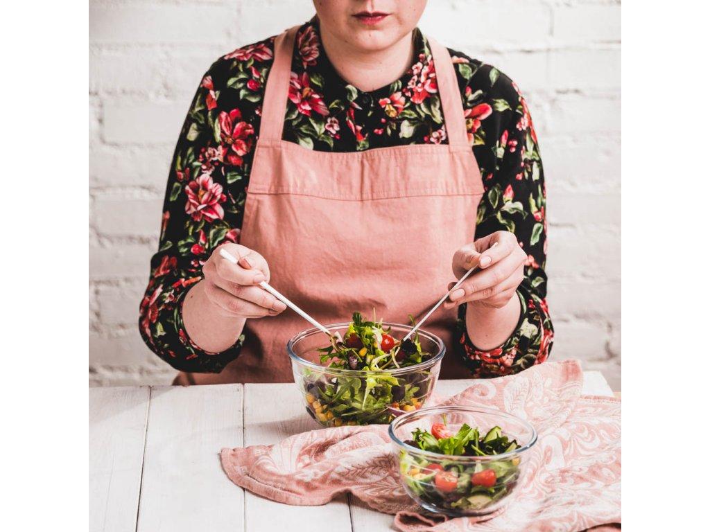 Žáruvzdorná salátová mísa Excellent 16 cm 1 l AMBITION