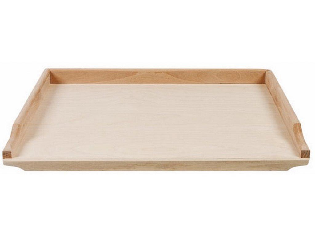 Malý dřevěný vál 47 x 39 cm EKO
