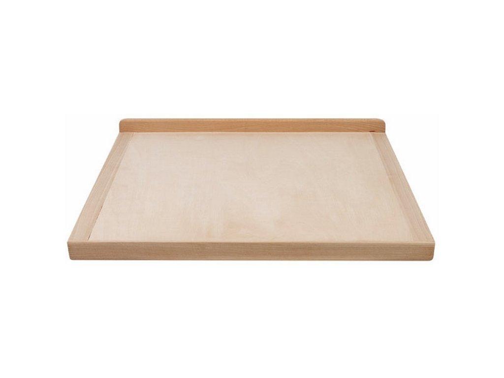 Oboustranný dřevěný vál 56 x 51 cm EKO