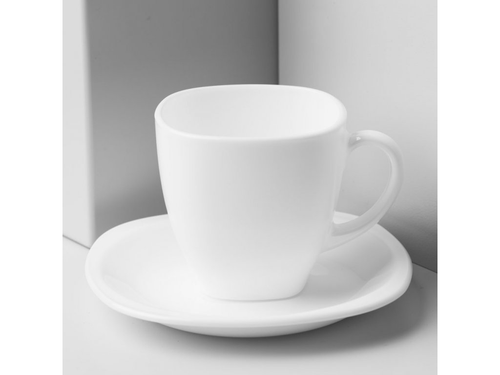 Kávový servis Carine White 12-dílů LUMINARC