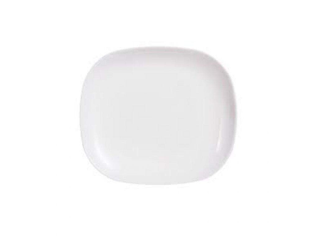 Dezertní talíř Sweet Line White 21,5 x 19 cm LUMINARC