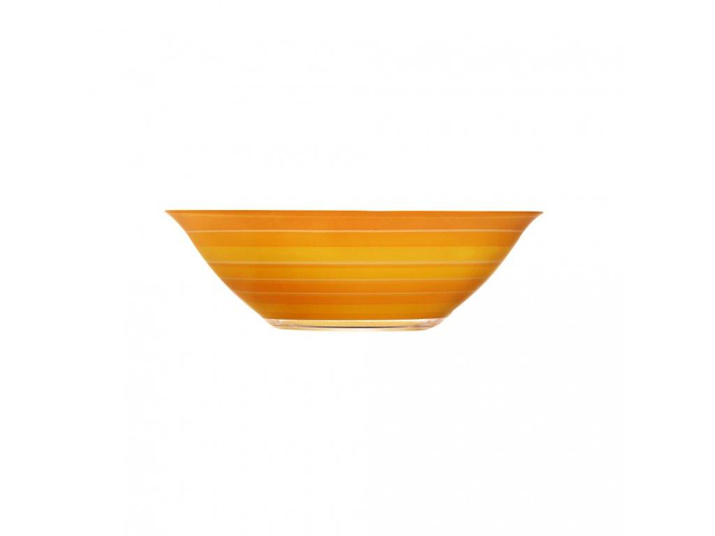 Salátová mísa Rainbow Orange 27 cm LUMINARC