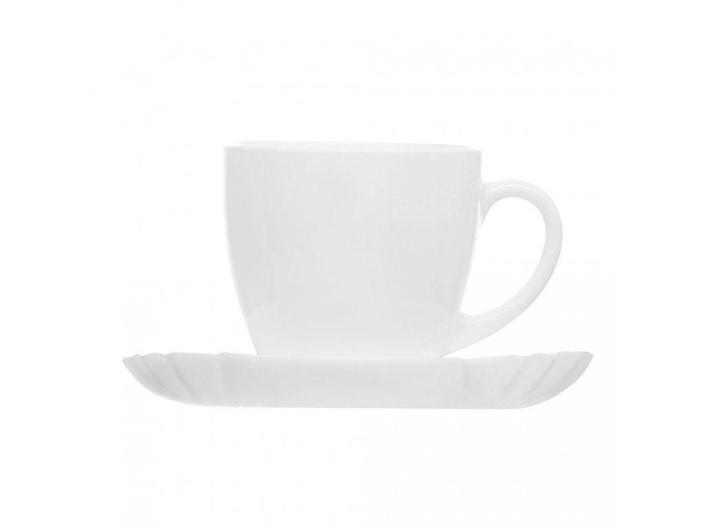 Kávový servis Lotusia 12-dílů LUMINARC
