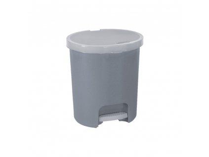 Odpadkový koš s pedálem Lux Grey 25 l CURVER