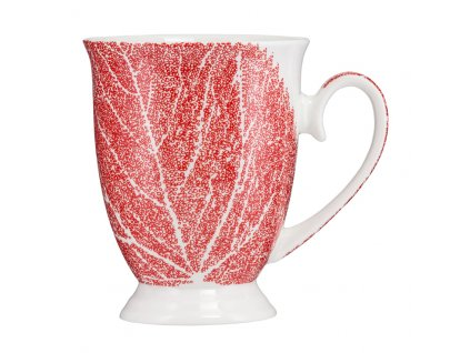 Porcelánový hrnek Diana Red Leaf 300 ml AMBITION