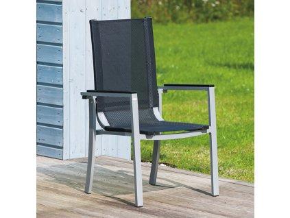 Hliníková zahradní židle Neapol pro samostatnou montáž PATIO