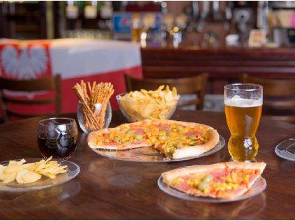 Sada 4 talířů na pizzu Foot Party 31 cm LUMINARC