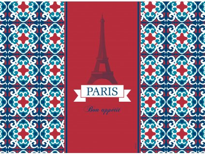 Sada 2 podložek na stůl z korku City Paris 39,5 x 29,5 cm AMBITION