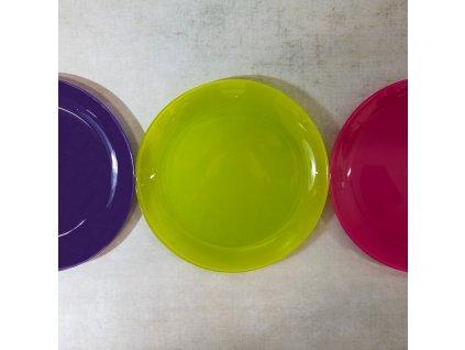 Dezertní talíř Arty Violet 20,5 cm II. JAKOST LUMINARC