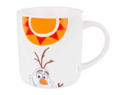 Porcelánový hrnek Frozen Olaf - Słoneczko  350 ml DISNEY PL nápisy