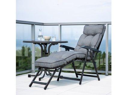 Zahradní stůl Dine & Relax Pizarra / Antracit II. 85 cm PATIO