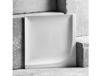 Mělký talíř Monaco 25,5 x 25,5 cm AMBITION