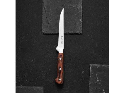 Řeznický nůž Wood 15 cm AMBITION