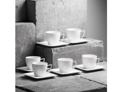 Kávový servis Monaco 12-dílů AMBITION