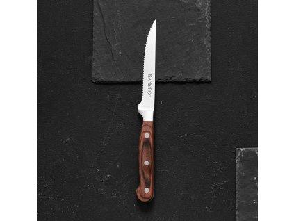 Steakový nůž Wood 12 cm AMBITION