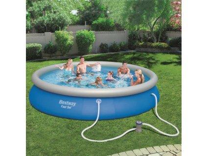 Nadzemní bazén s límcem Fast Set 457 x 84 cm BESTWAY