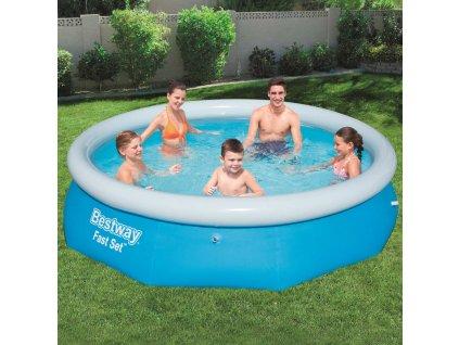 Nadzemní bazén s límcem Fast Set 305 x 76 cm BESTWAY